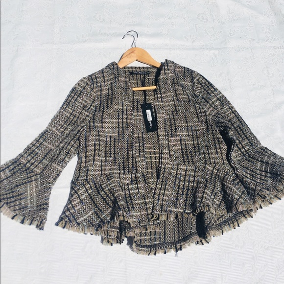 Doe & Rae Jackets & Blazers - BNWT Tweed Shabby Chic Blazer